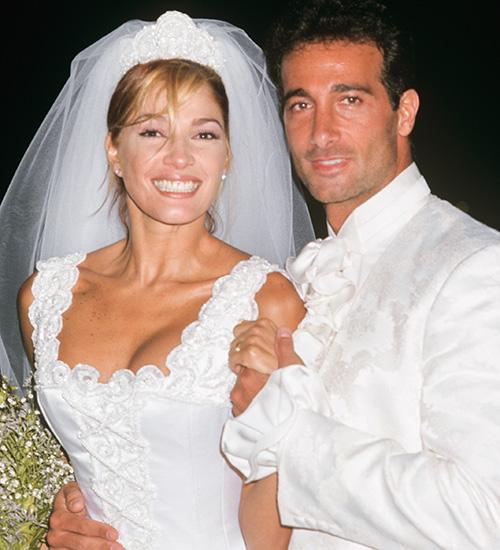 Catherine Fulop y Osvaldo Sabatini