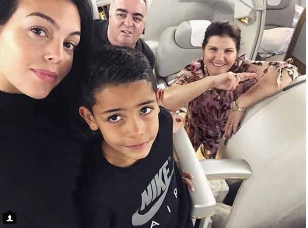 Goergina Rodríguez y la mamá de Cristiano Ronaldo