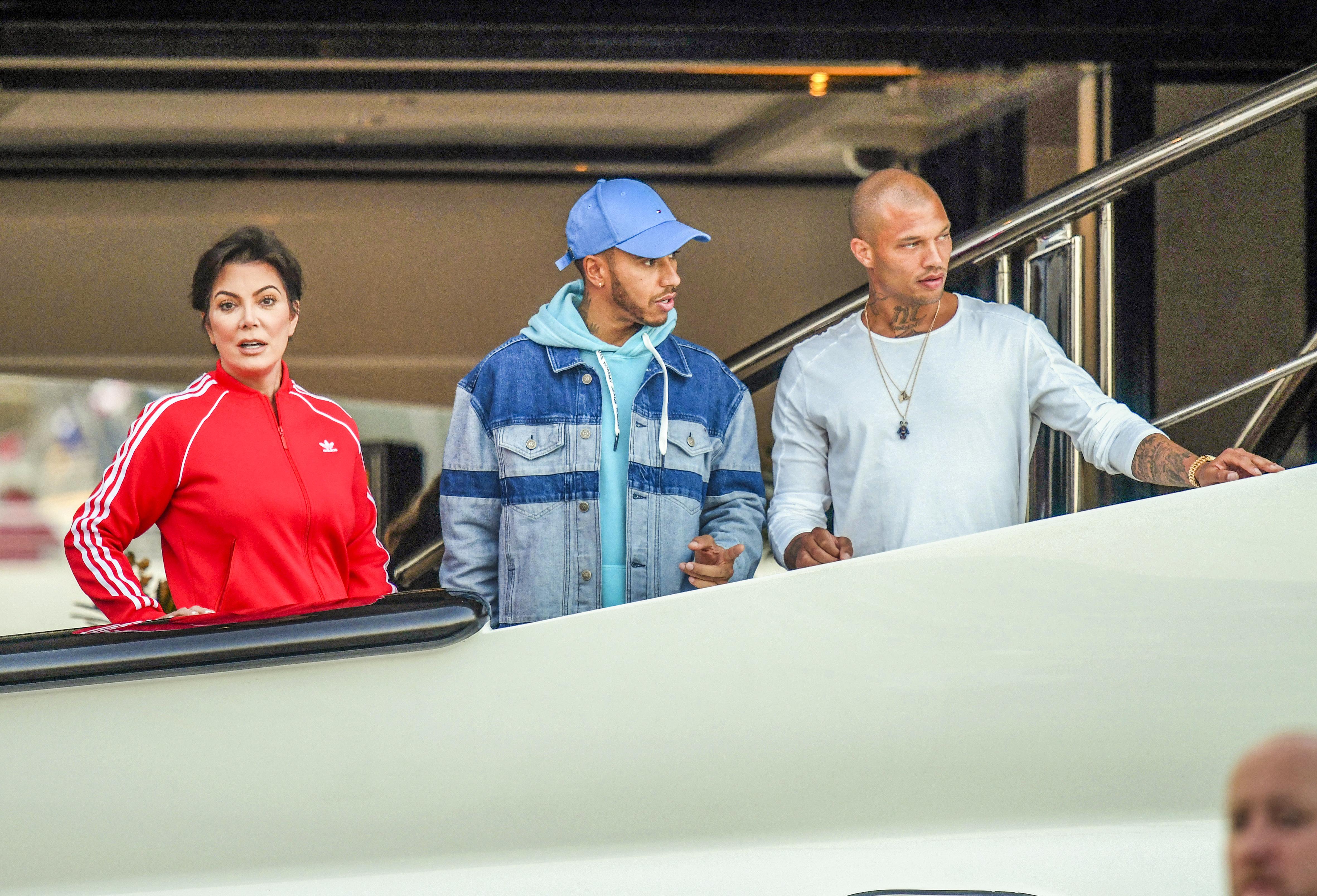 Kris Jenner Jeremy Meeks