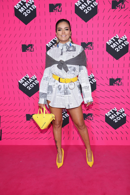 Karol G, look, estilo, style
