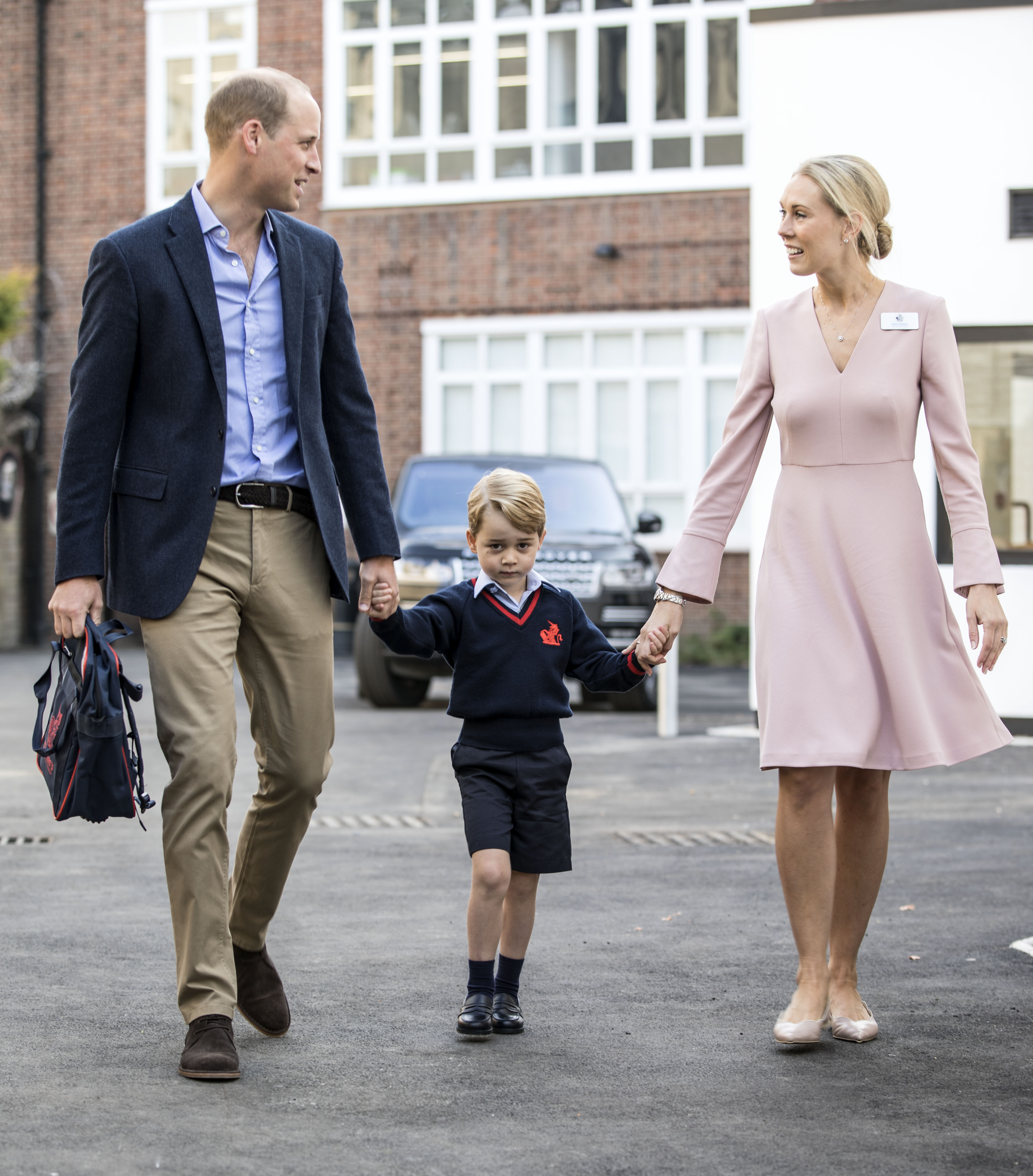 Príncipe George, príncipe William,
