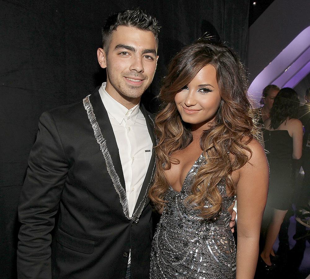 Joe Jonas y Demi Lovato
