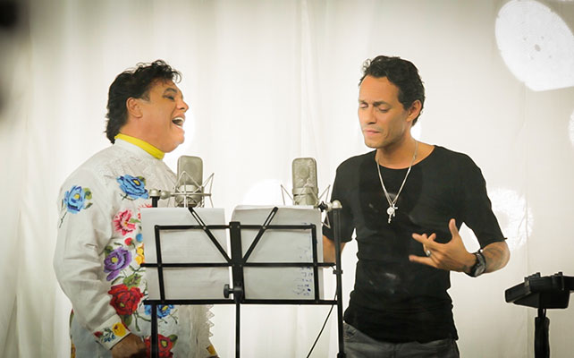 Juan Gabriel y Marc Anthony