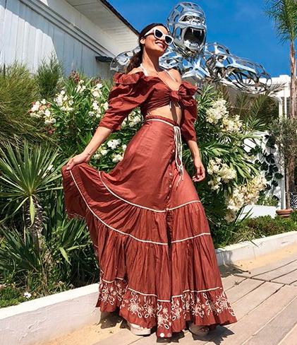 Zuleyka Rivera, looks, vacaciones