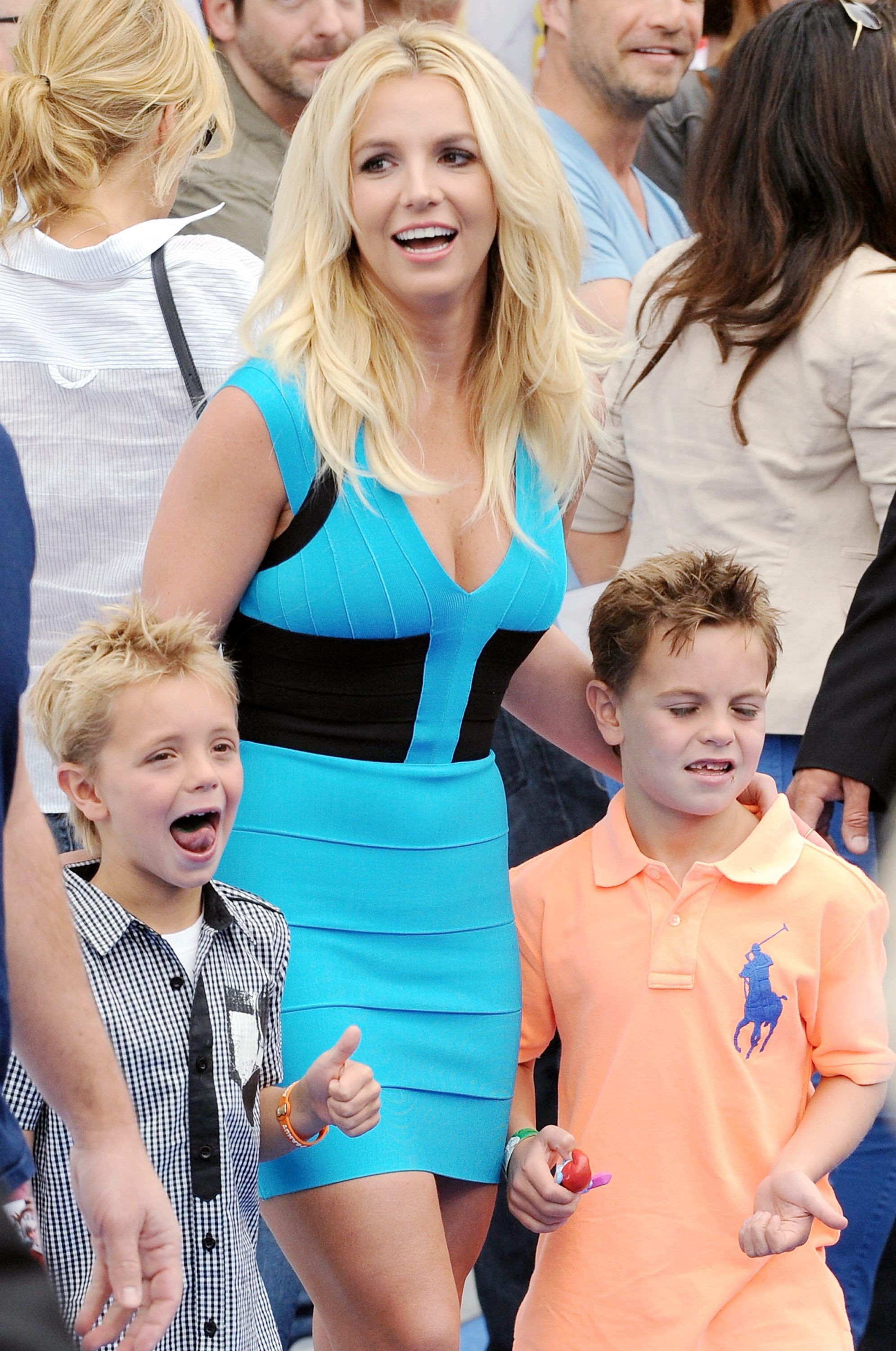 Britney Spears Sean Preston Federline Jayden james Federline