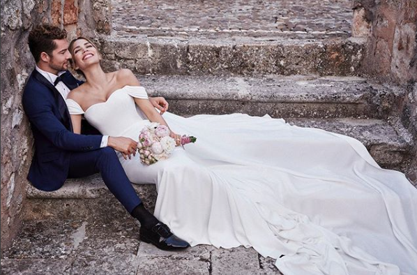 David Bisbal y Rossana Zanetti