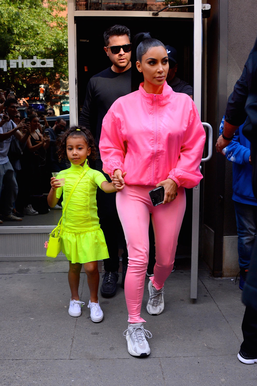 Kim Kardashian, rosa, estilo