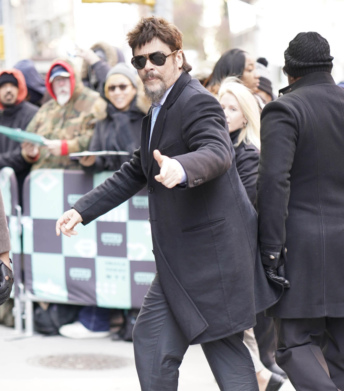 Celebrity Sightings In New York City - November 14, 2018