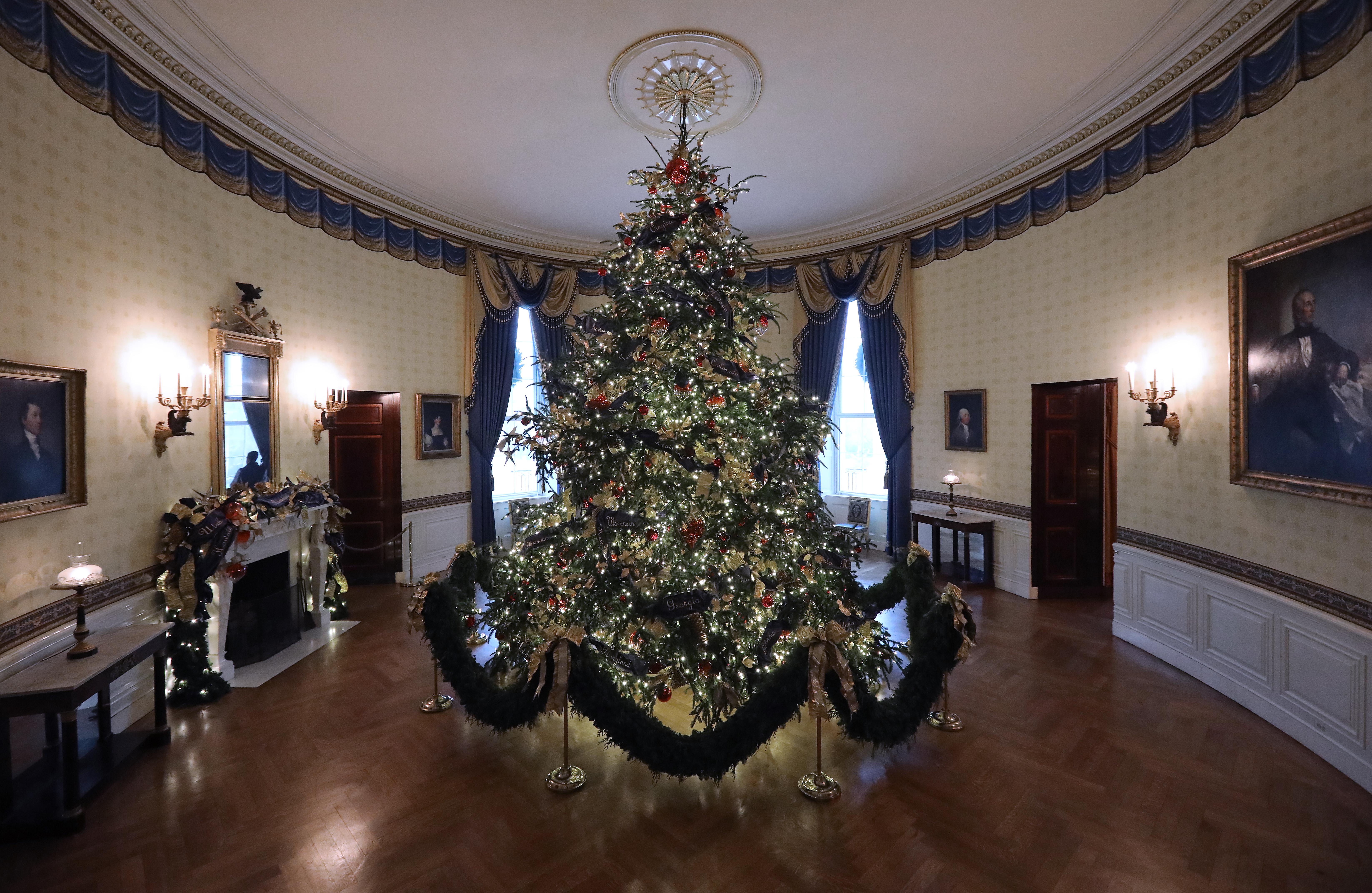 Decoración de Navidad de la Casa Blanca