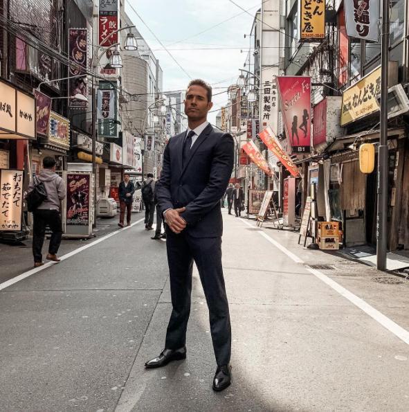 Sebastián Rulli Japón, noviembre 2018