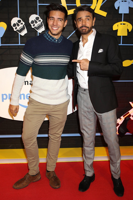 Eugenio y Vadhir Derbez