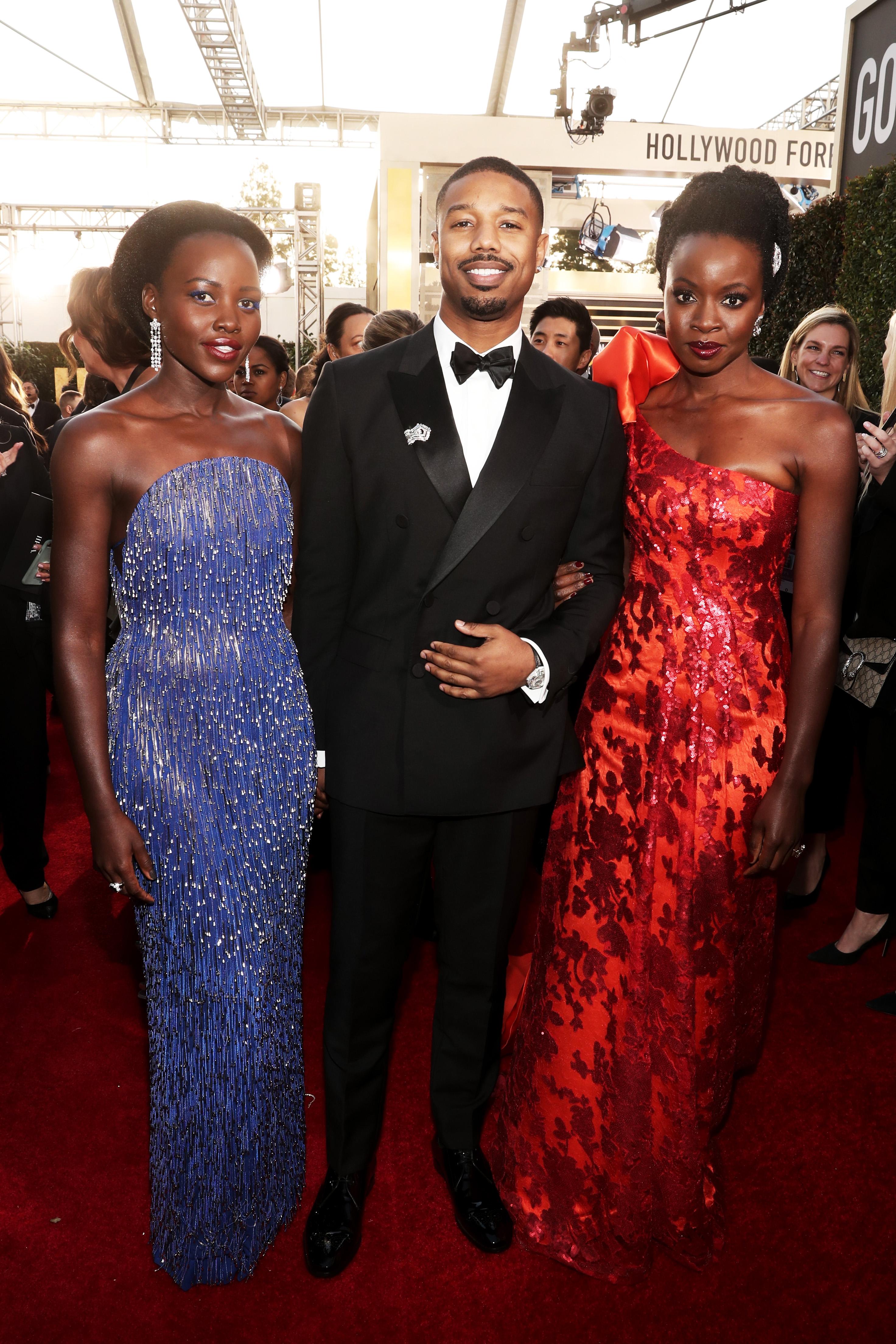 Lupita Nyong'o, Michael B. Jordan, Danai Gurira