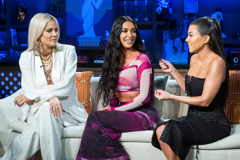 Khloé Kardashian, Kim Kardashian, Kourtney Kardashian