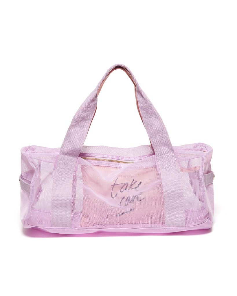WORK IT OUT MESH GYM BAG