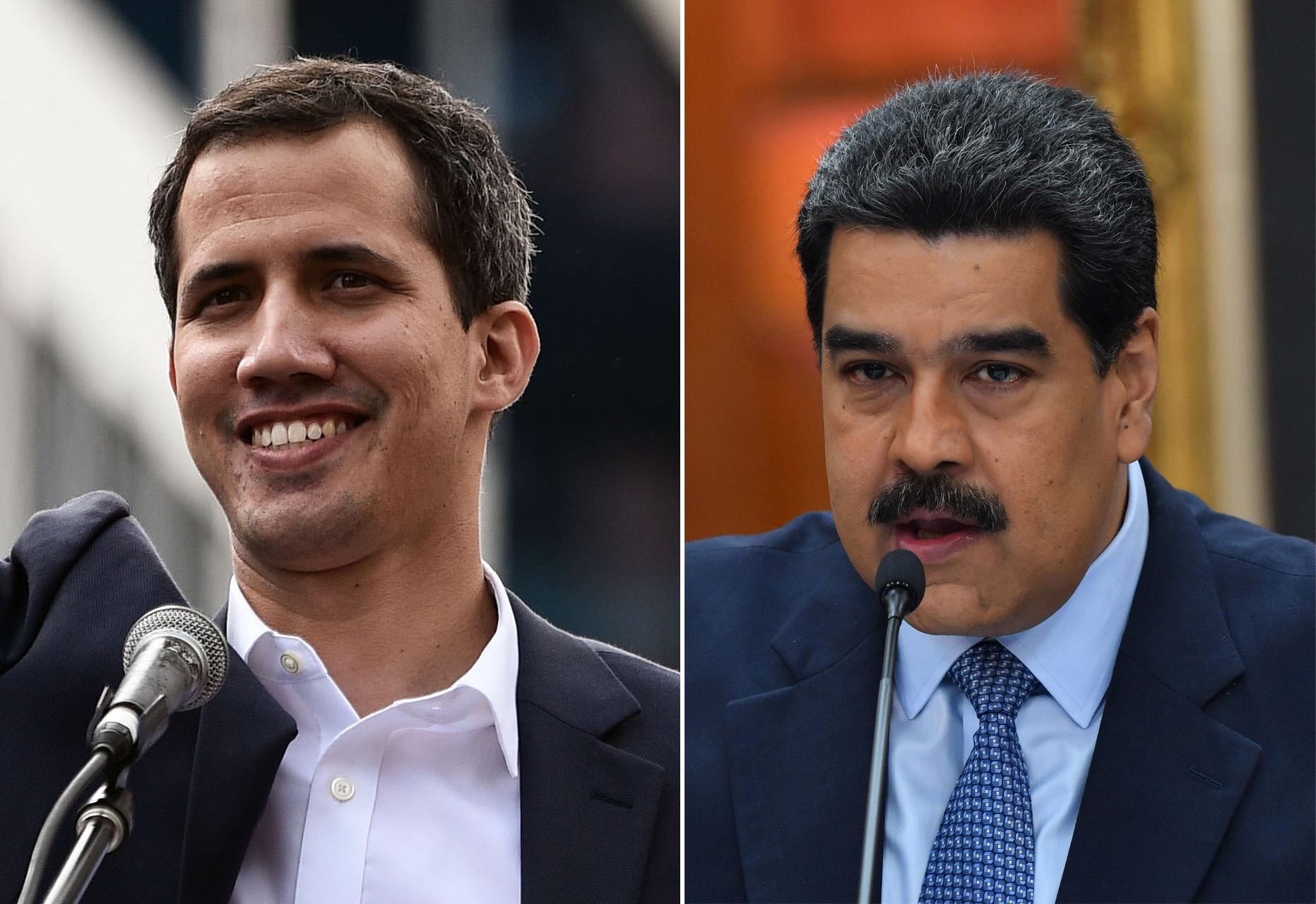 Juan Guaido, Nicolás Maduro