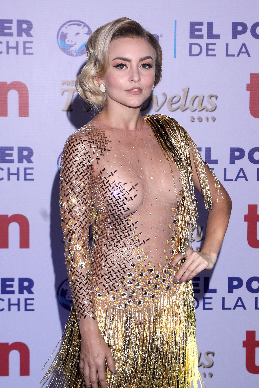 Angelique Boyer Luce Vestido Al Revés People En Español
