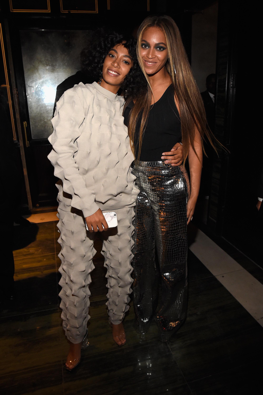 Beyonce y Solange Knowles
