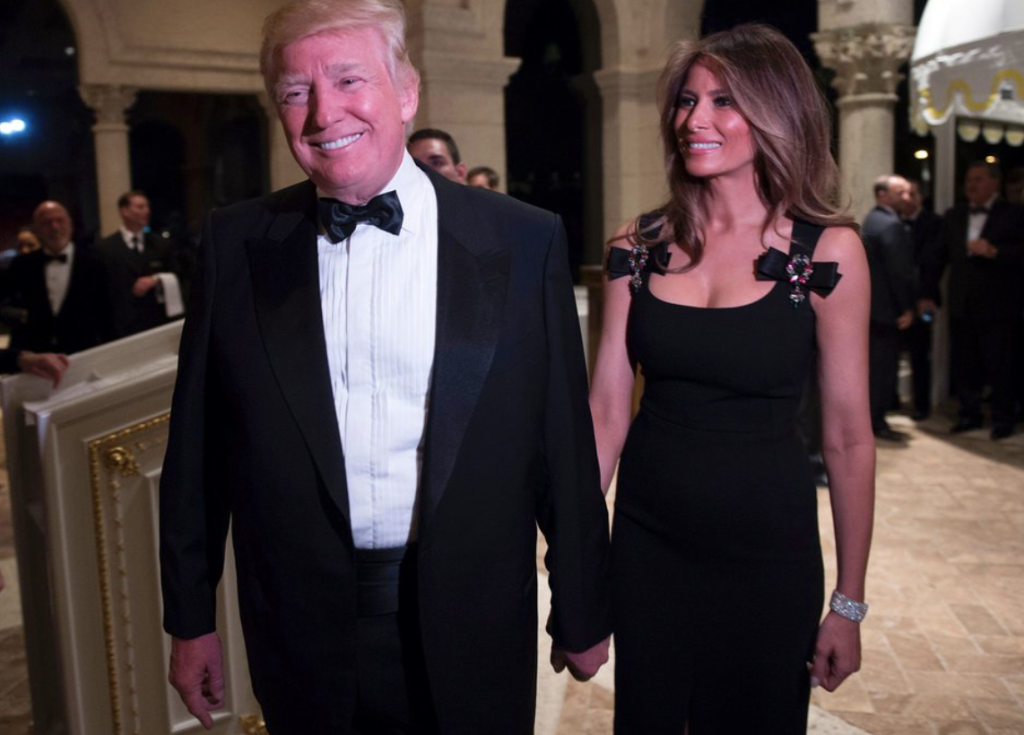 Donald Trump and First Lady Melania TrumpDON EMMERT/AFP/Getty Images