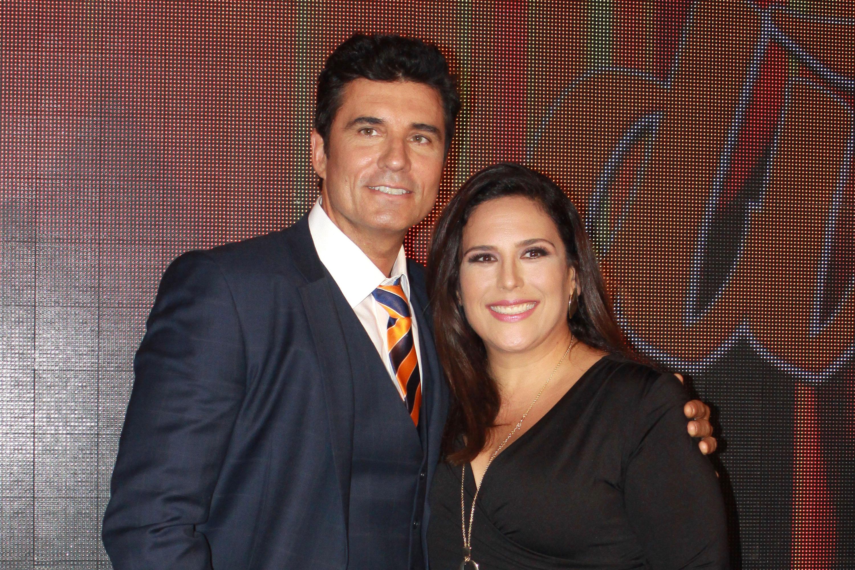 Angélica Vale y Diego Olivera