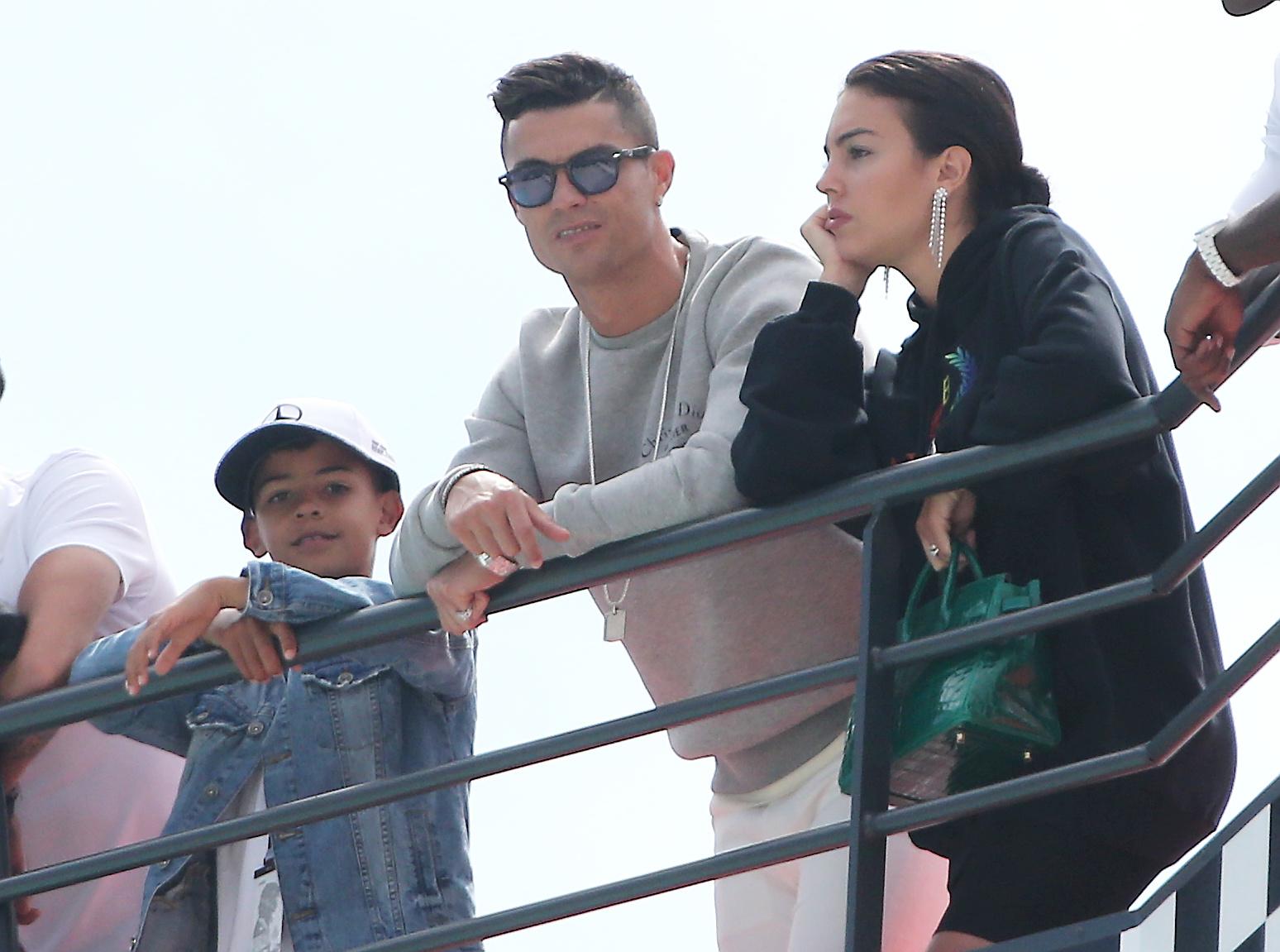 Cristiano Ronaldo Georgina Rodgriguez Cristiano Jr.