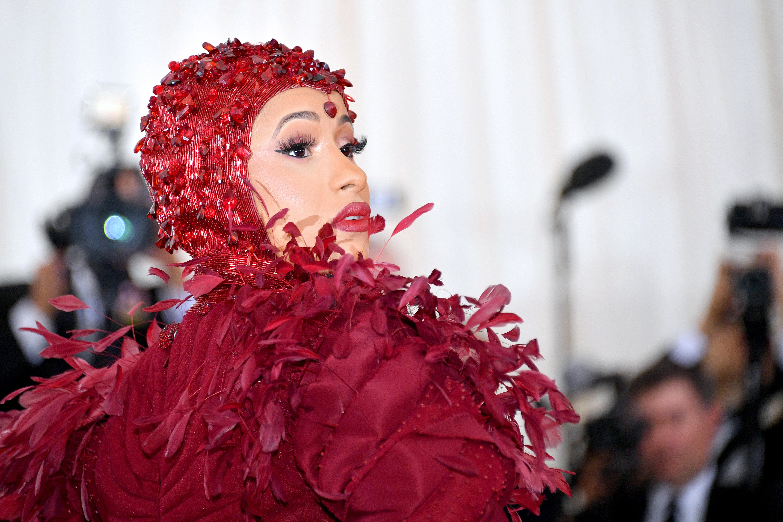 Cardi B, look, belleza, met gala, 2019