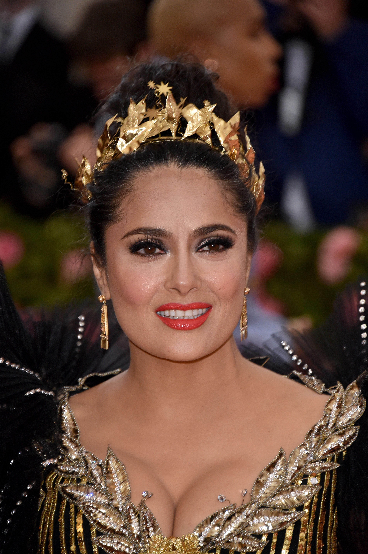 Salma Hayek, look, met gala, 2019