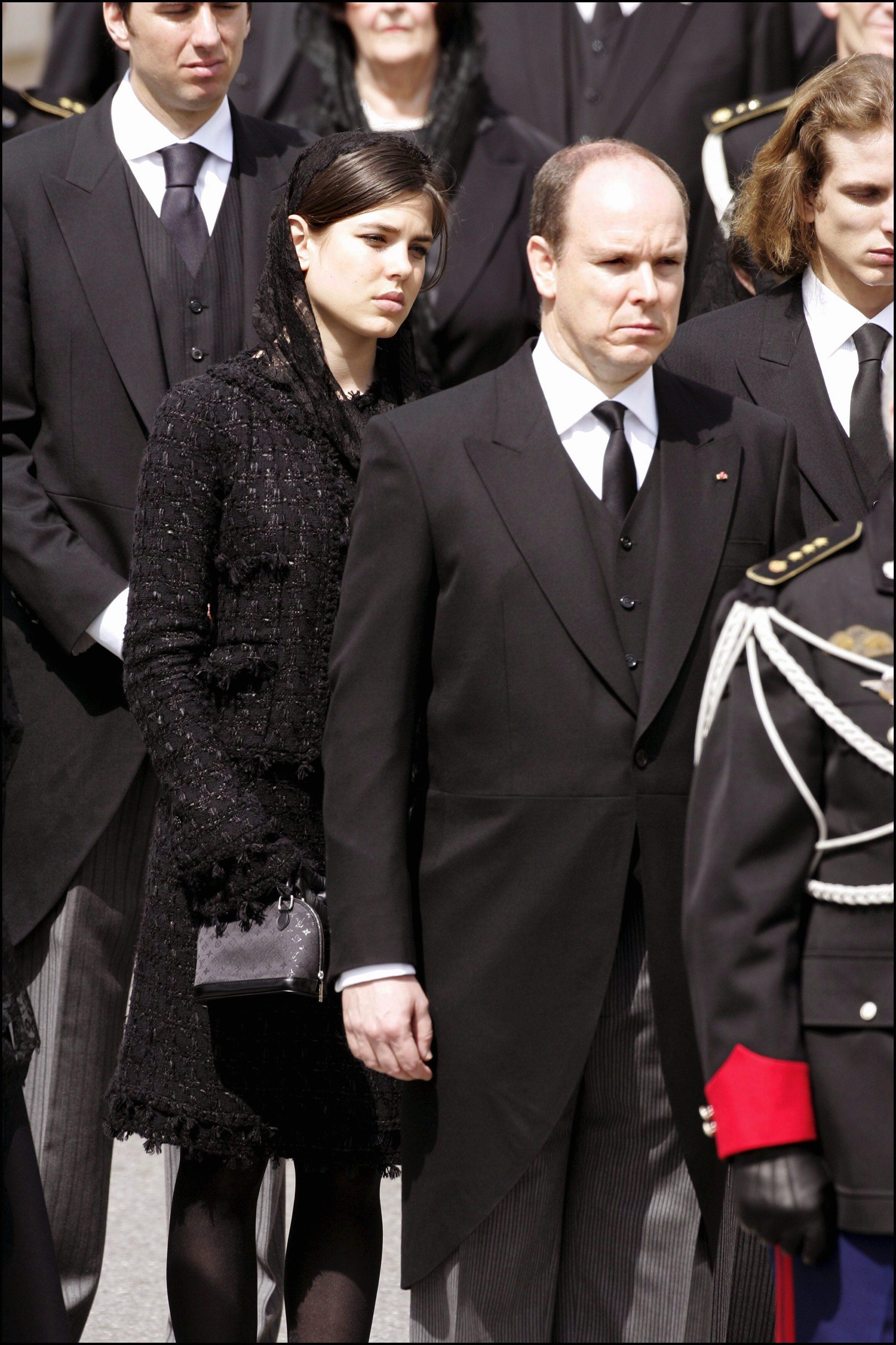 Funeral Of Prince Rainier Iii Of Monaco In Monaco City, Monaco On April 15, 2005.