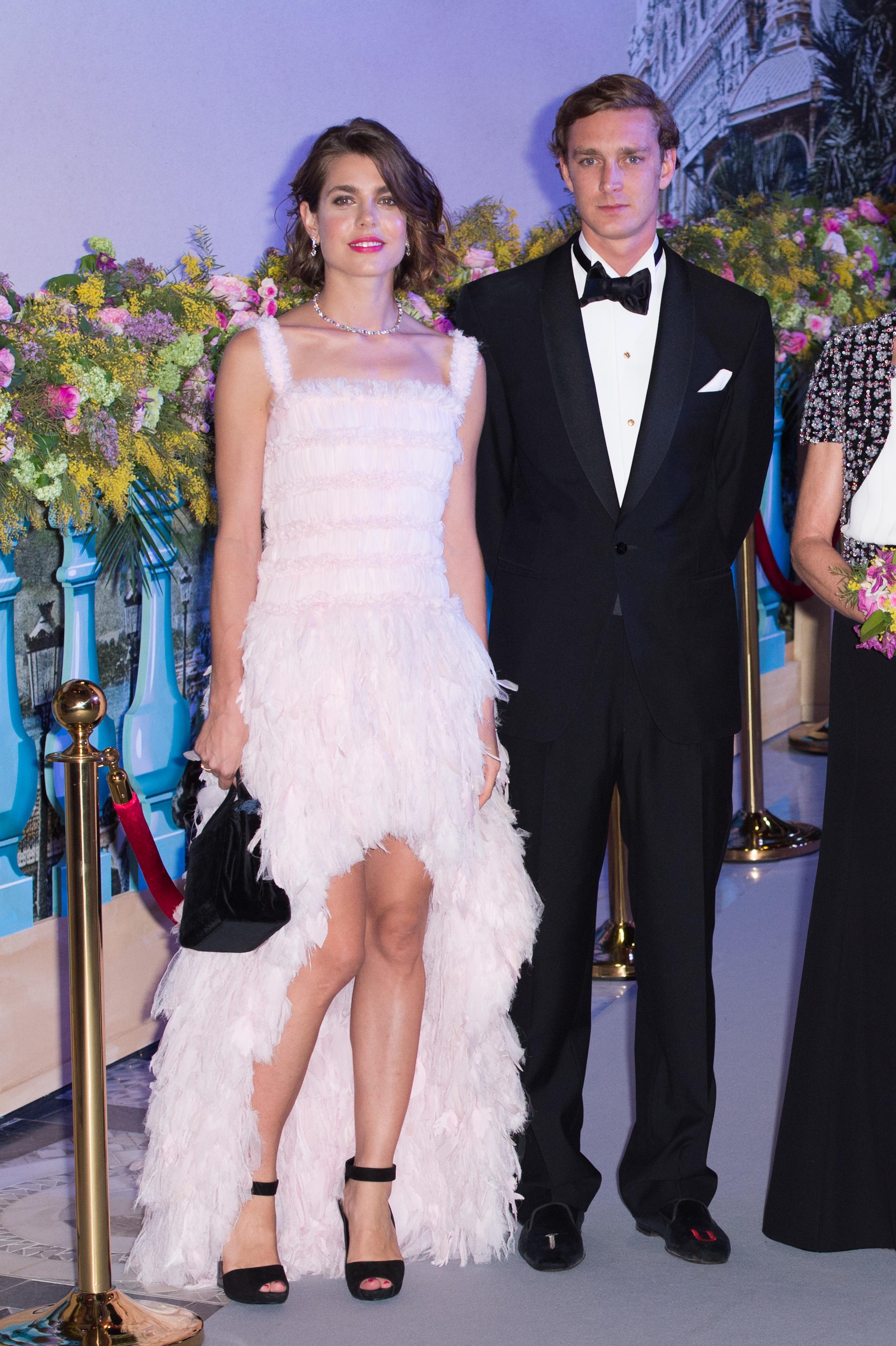Monaco - 'Bal De La Rose Du Rocher' In Aid Of The Fondation Princess Grace - 150th Anniversary Of The SBM