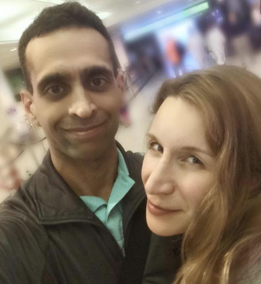 Mohammed Shamji, Elana Fric PHOTO: FACEBOOK