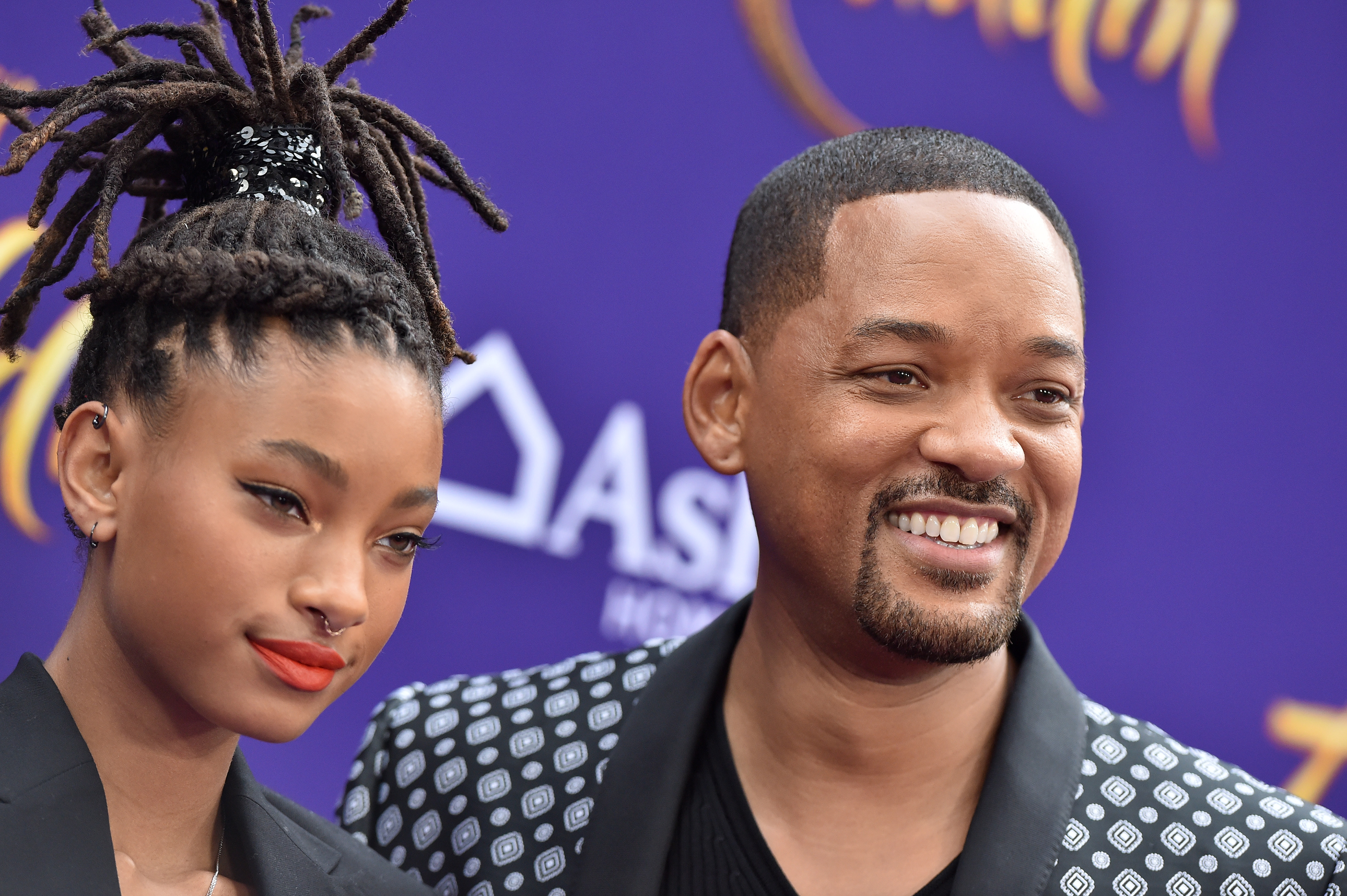 Willow Smith y Will Smith