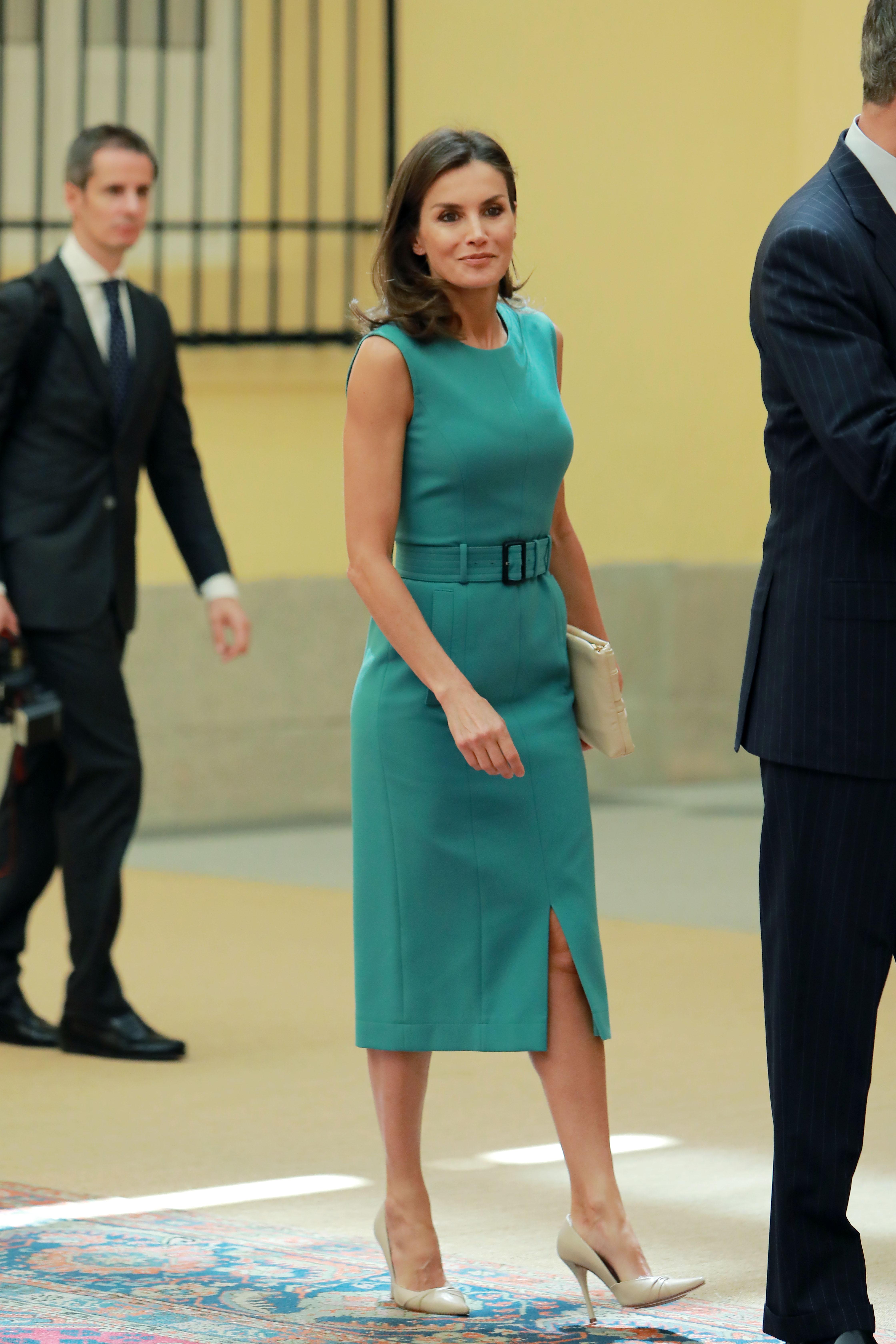 La reina letizia, looks, espana