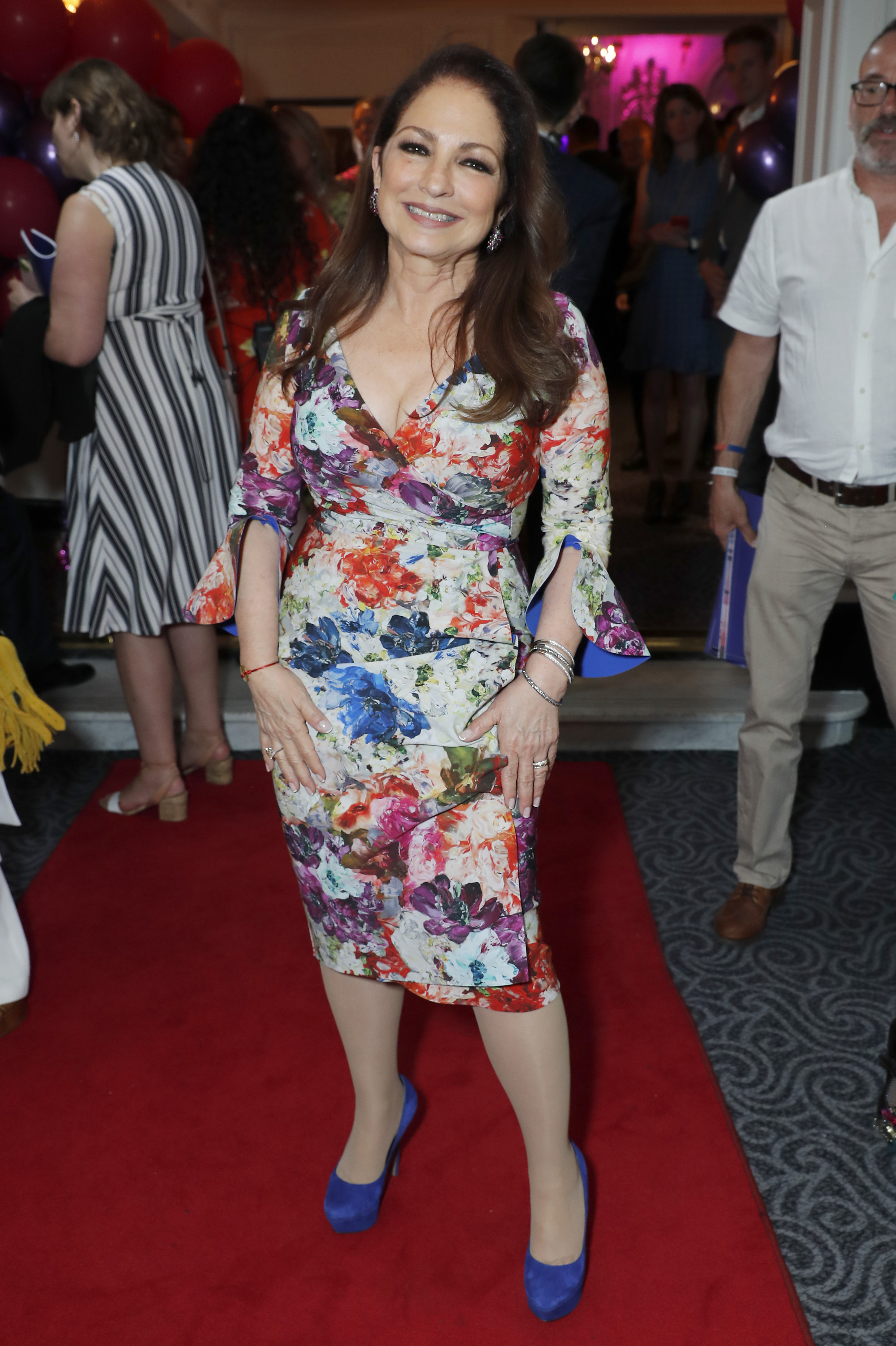 Gloria Estefan, looks, on your feet, londres