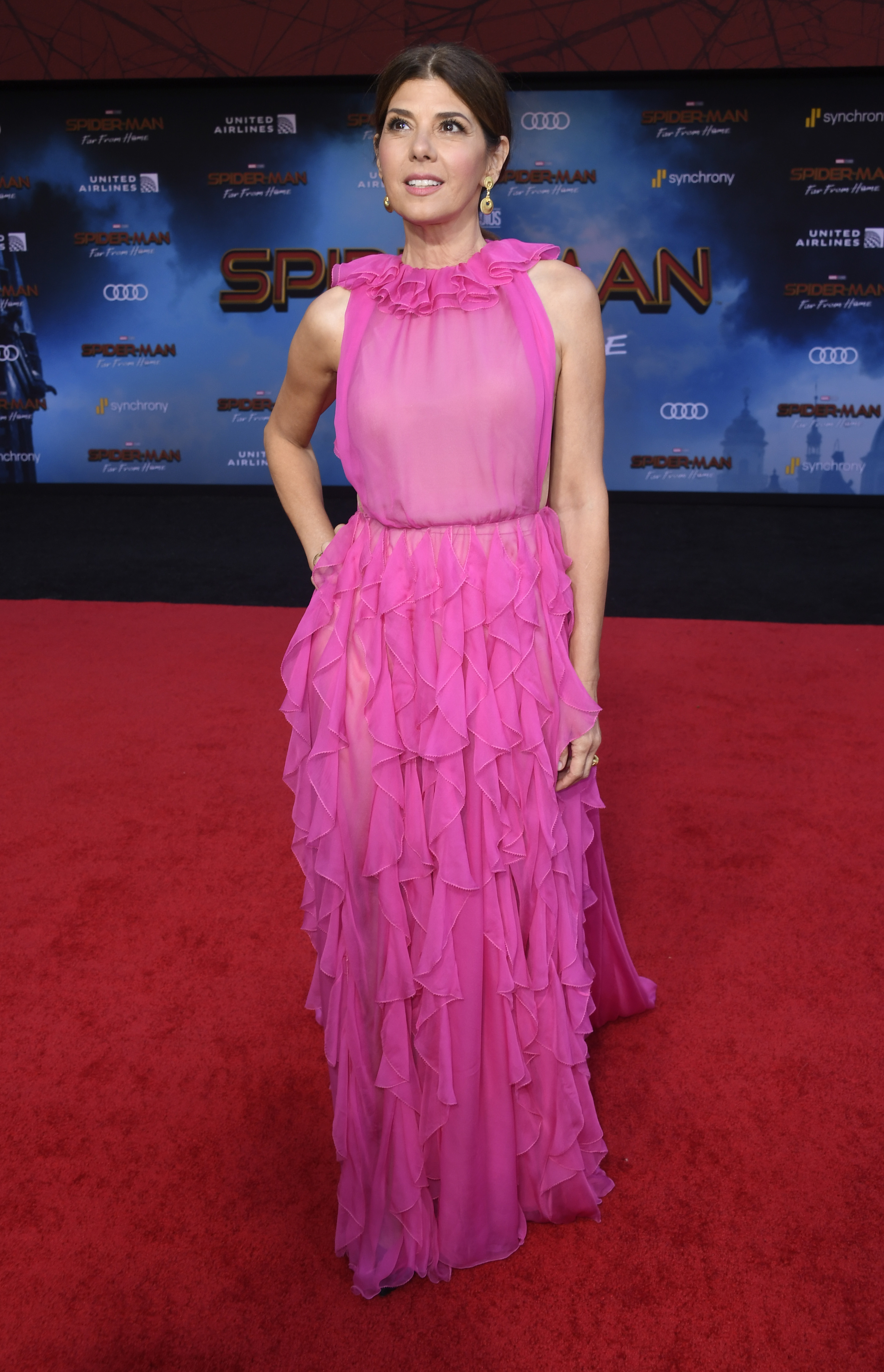 Marisa Tomei, look, premier, spiderman far from home
