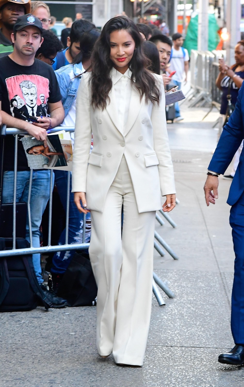 Olivia Munn, looks, streetstyle, new york