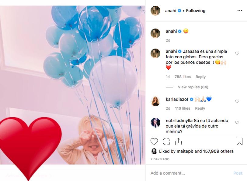 Anahí/Instagram