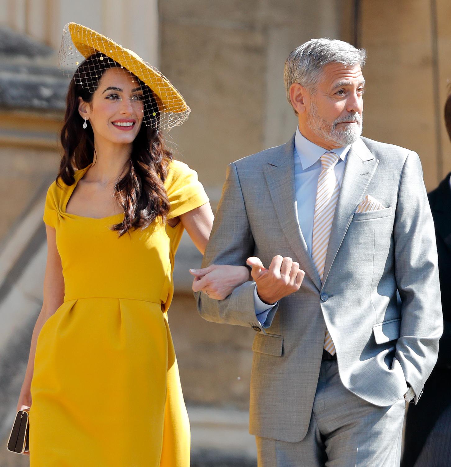 Amal Clooney, vestido, boda real, Stella McCartney