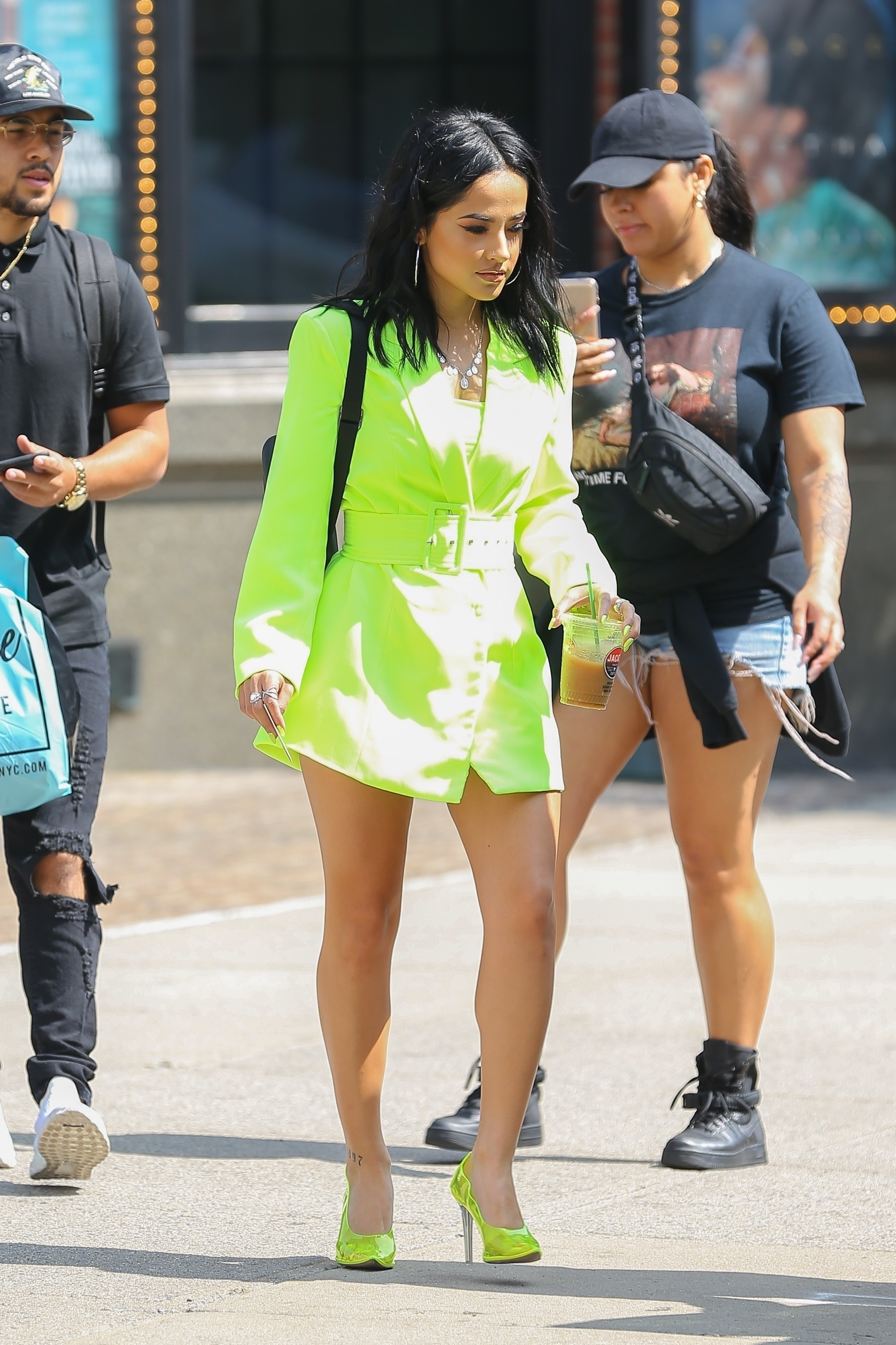 Becky G, looks, new york