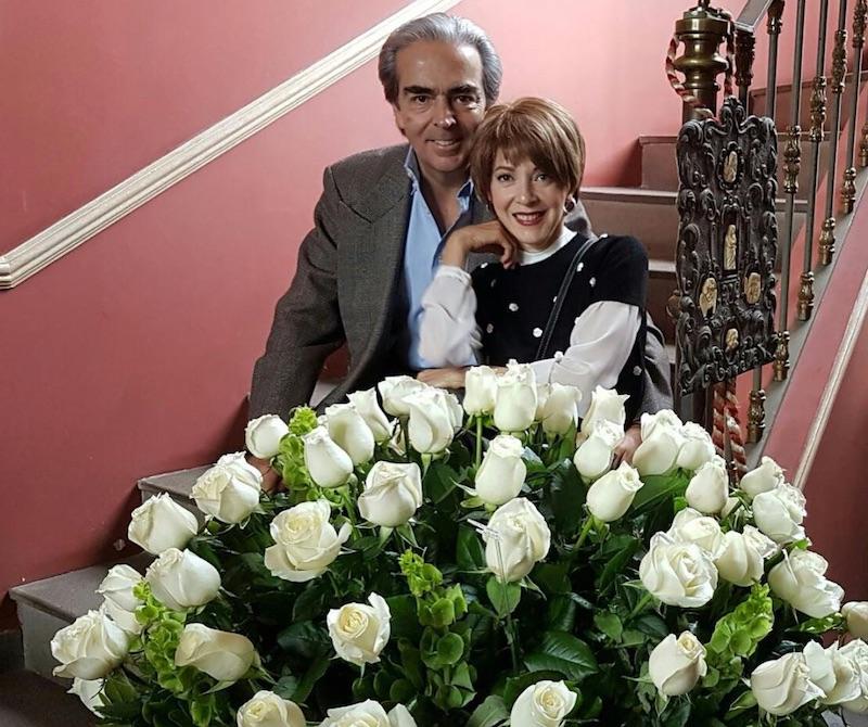 Edith González y su esposo Lorenzo Lazo