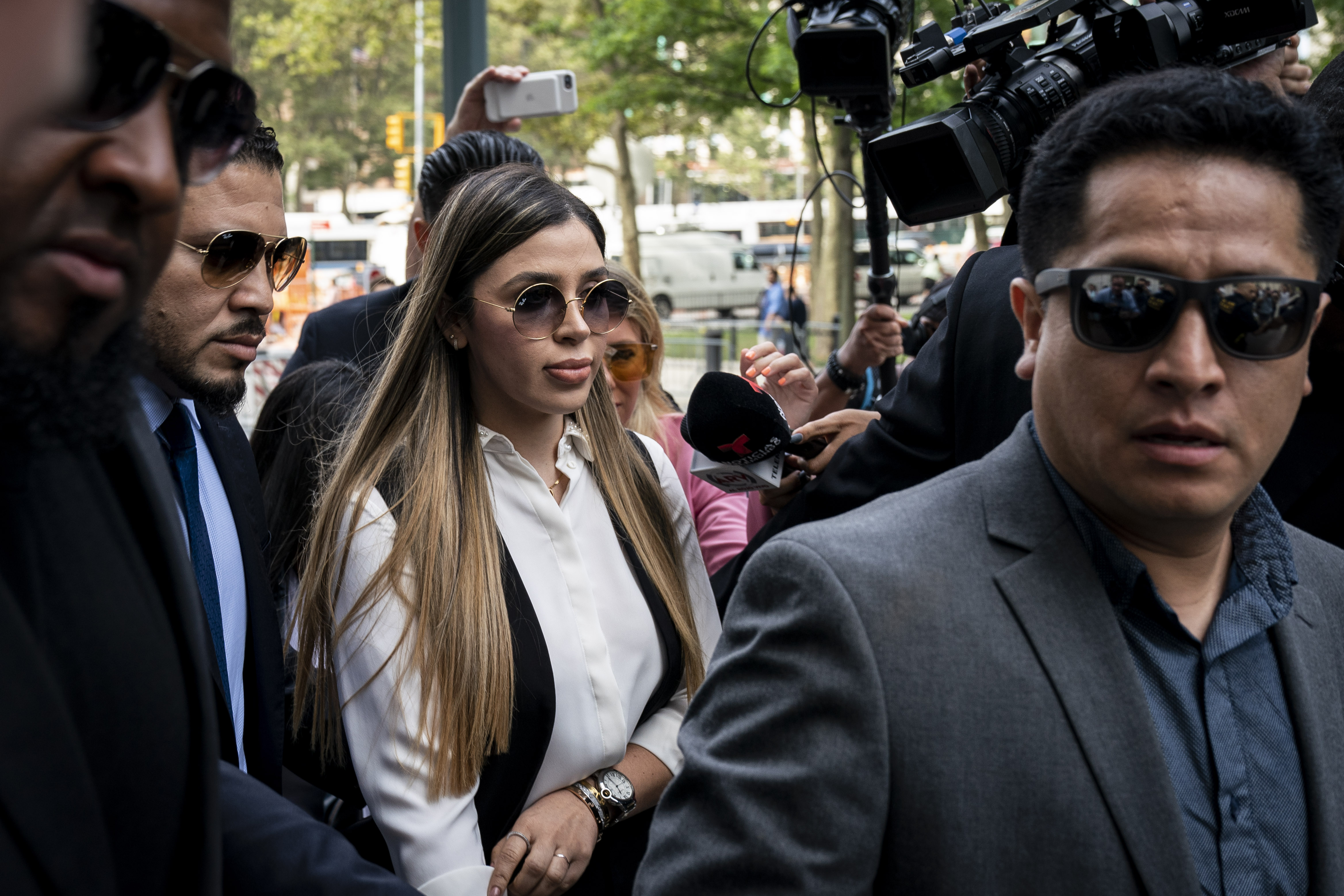 "Emma Coronel Aispuro, esposa de Joaquin ""El Chapo"" Guzman"