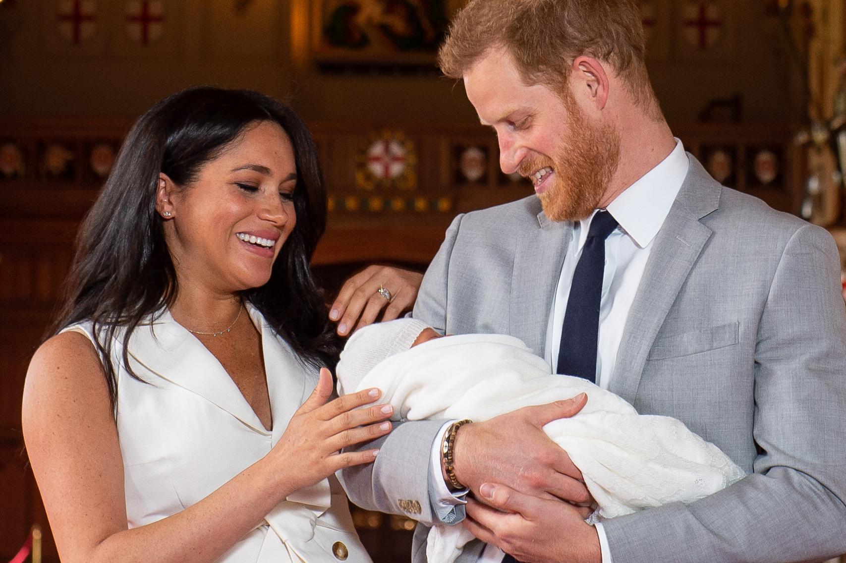 Archie, los duques de Sussex