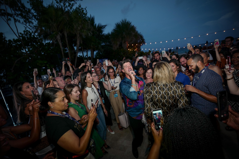 Robin Thicke en el Solé Miami