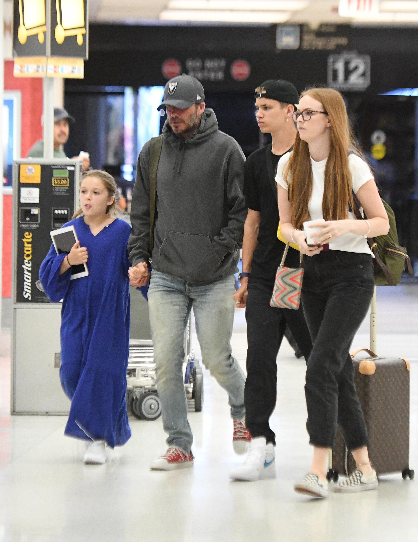 EXC David Beckham, Victoria Beckham