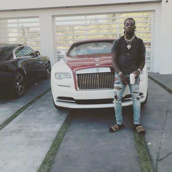Offset y su Rolls Royce