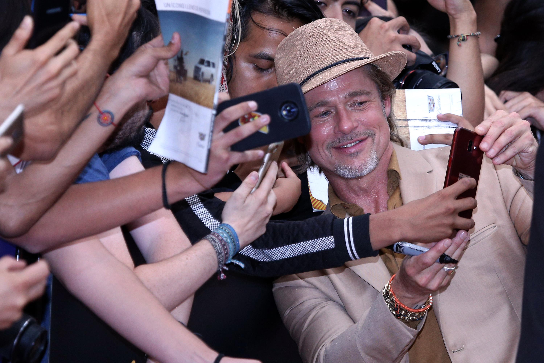 Brad Pitt en Mexico