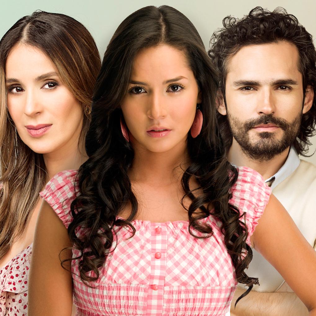 Catherine Siachoque, Carmen Villalobos y Fabián Ríos
