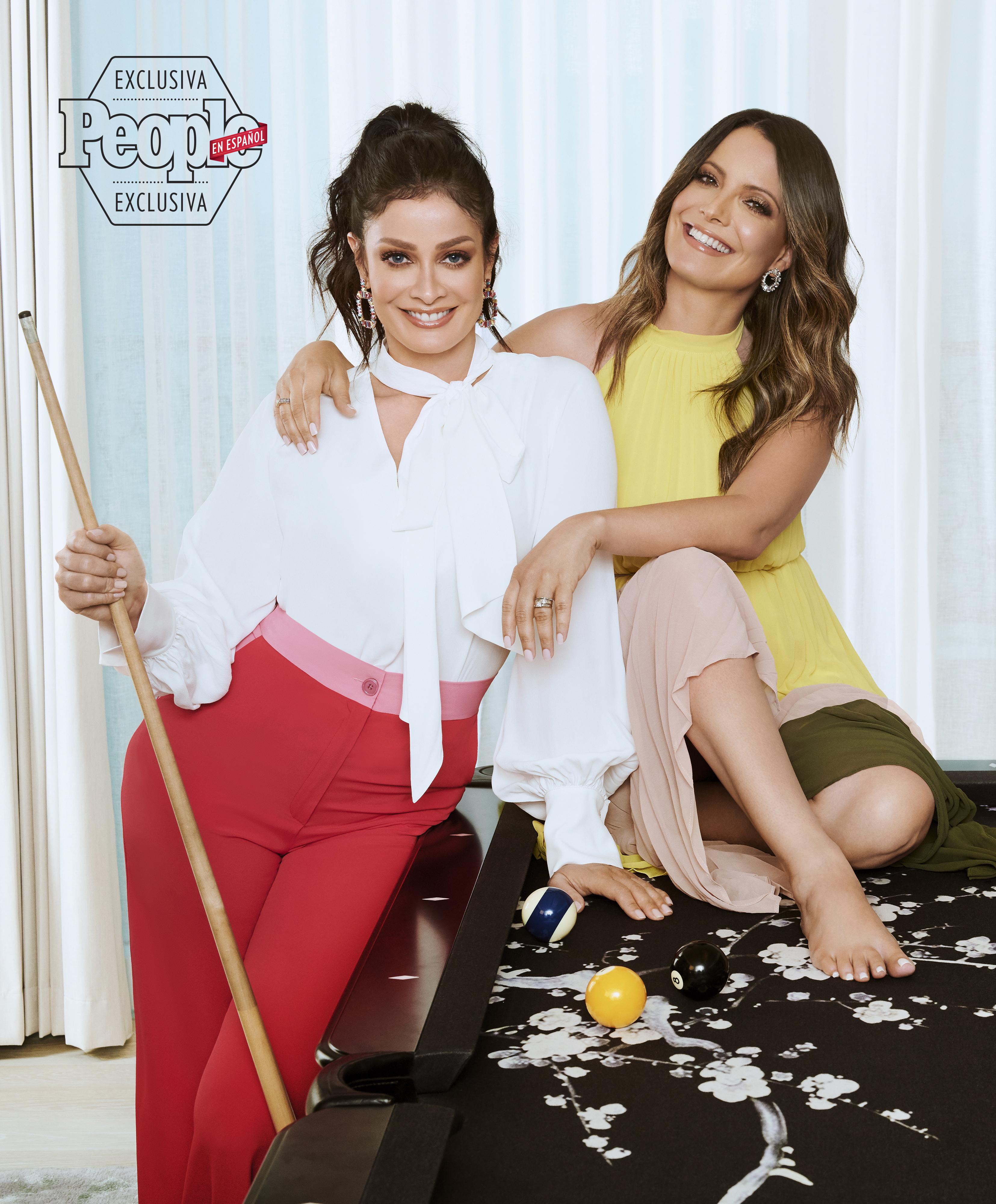 Dayanara Torres y su hermana Jeannette Torres