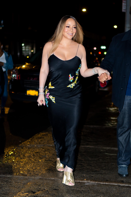 Mariah Carey, looks, streetstyle, new york