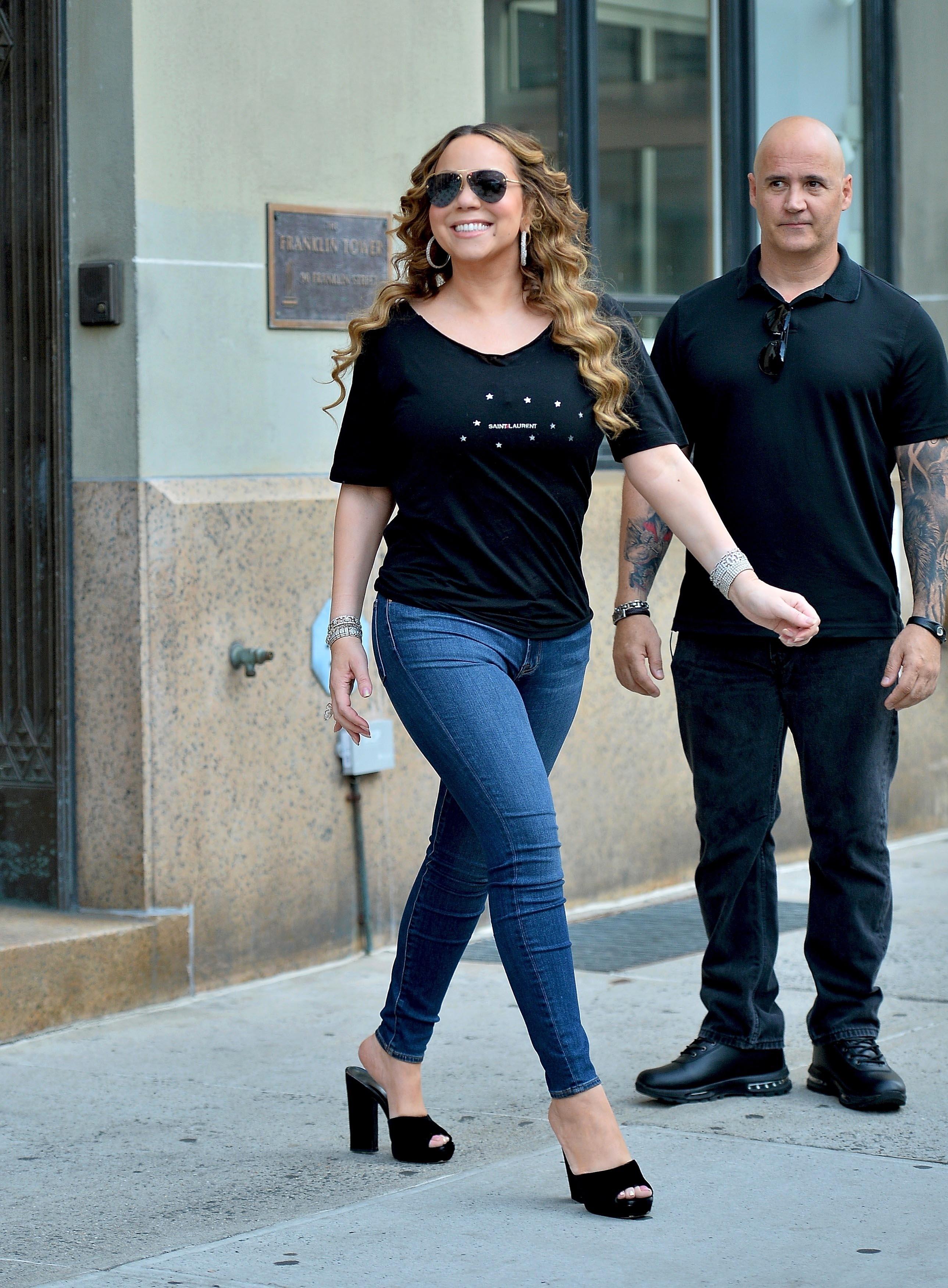 Mariah Carey, looks, streetstyle