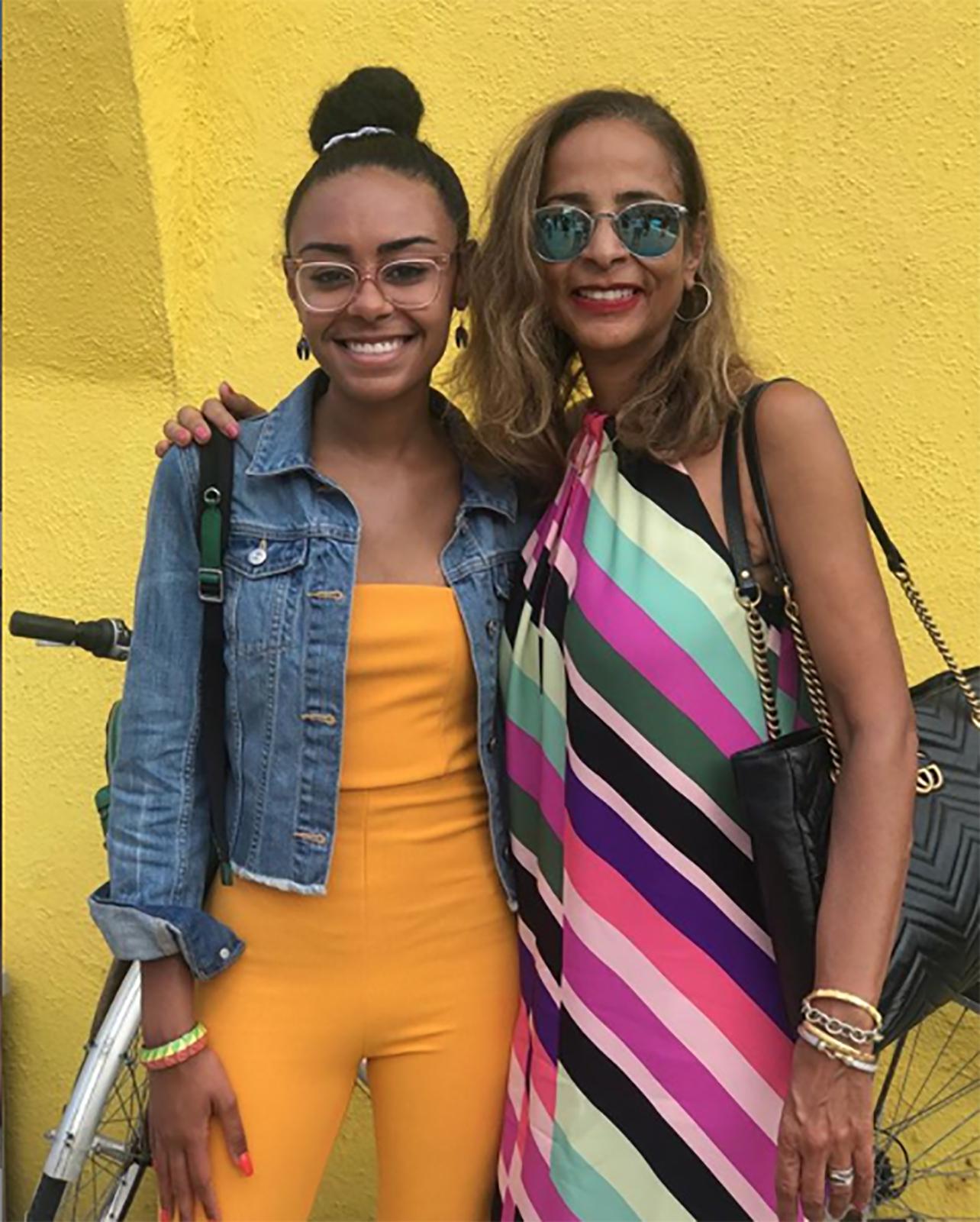 Marsha Edwards y hija Erin Victoria