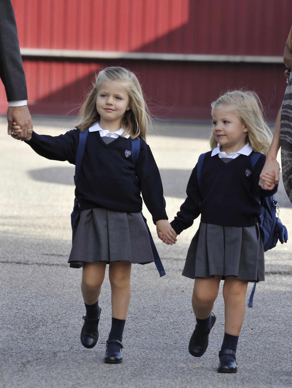 Princesas Leonor y Sofía